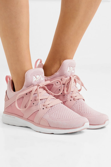 APL Athletic Propulsion Labs Ascend TechLoom Sneakers aus Mesh