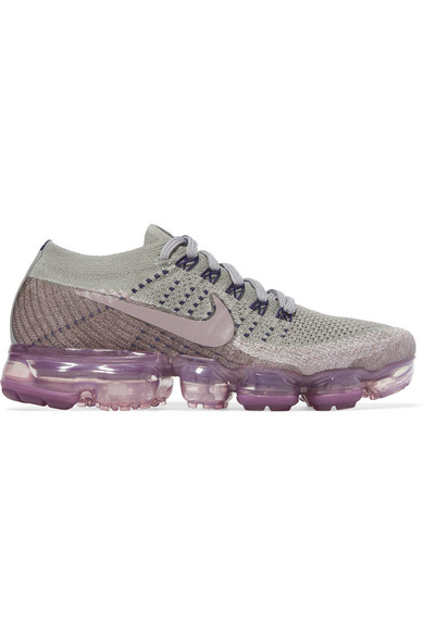 Nike Air VaporMax Flyknit Men's Running Shoes Glacier Blue