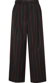 Versus Versace Cropped striped wool pants
