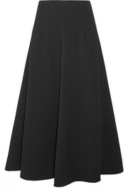 Glendon stretch-ponte midi skirt