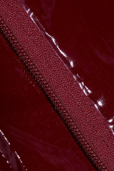 3.1 Phillip Lim Verkürzte Jacke aus Vinyl