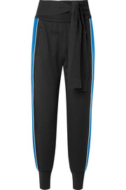 3.1 Phillip Lim Striped French cotton-terry track pants
