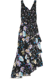 3.1 Phillip Lim Tiered floral-print silk-crepon maxi dress