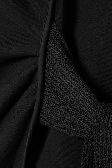 3.1 Phillip Lim Sweatshirt aus Baumwollfrottee mit Streifen