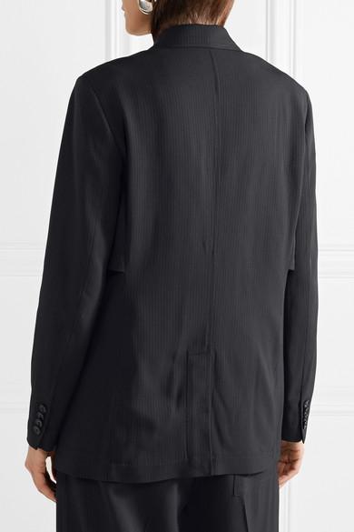 3.1 Phillip Lim Mehrlagiger Oversized-Blazer aus Twill mit Nadelstreifen