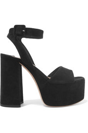125bd770f11a8 Suede platform sandals