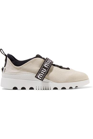 Aclaramiento Perfecta Sneakers Miu Miu Recomendar Barato En Venta Baúl Aclaramiento De Ebay 2f7mpEpTcN