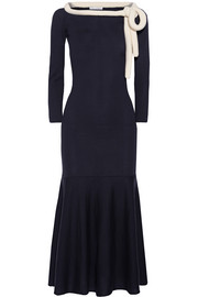 Oscar de la Renta Wool midi dress