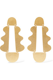 Matisse gold-tone earrings