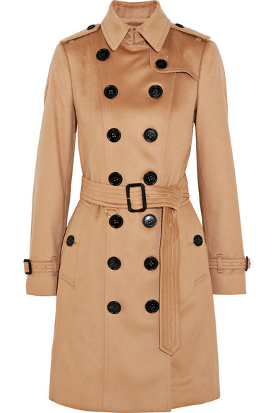 Burberry - The Sandringham Cashmere Trench Coat - Camel