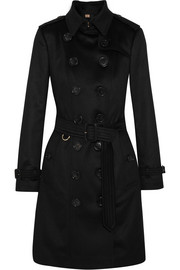 The Sandringham cashmere trench coat