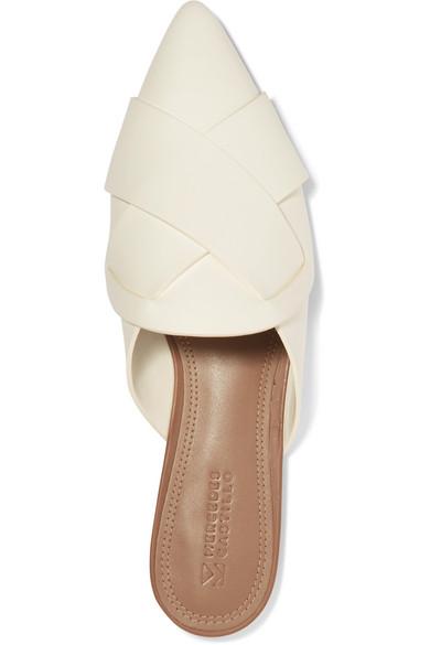 Mercedes Castillo Leive Slippers aus geflochtenem Leder Rabatt Extrem GSUsbiS1