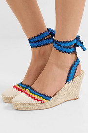 Ginny canvas wedge espadrilles