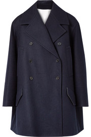 CALVIN KLEIN 205W39NYC Double-breasted wool-felt coat