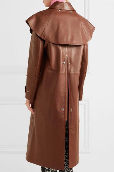 Billige Offizielle Seite Auslass Gut Verkaufen CALVIN KLEIN 205W39NYC Trenchcoat aus Leder 5cRatMiwLq