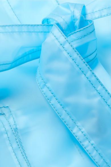 100% Authentisch CALVIN KLEIN 205W39NYC Oversized-Trenchcoat aus mattem PUR Erschwinglicher Verkauf Online Liefern Billige Online Fabrikpreis Bestseller Günstig Online V5x2P