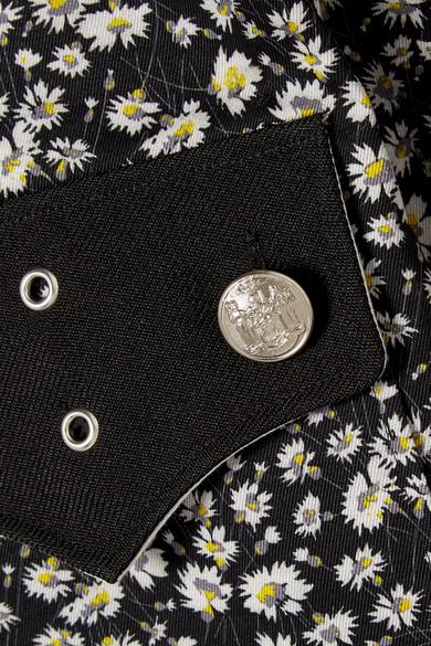 KLEIN floralem Twill CALVIN aus Hemd 205W39NYC mit Print Baumwoll 4znd7wq