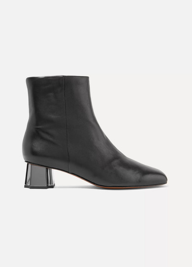 Robert Clergerie Petsy Leather Ankle Boots Low Price Cheap Price Outlet Geniue Stockist s5fjIu9pw