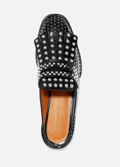 Clergerie Youla verzierte Slippers aus Leder