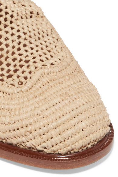 Clergerie Slippers | Jaly Slippers Clergerie aus Raffiabast mit Schnürung 235494
