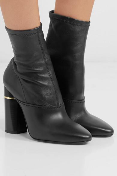 3.1 Phillip Lim Kyoto Sock Boots aus Leder Bester Großhandelsverkauf Online ItYbTB