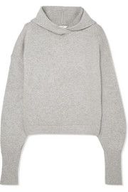 Tibi Hooded cashmere sweater