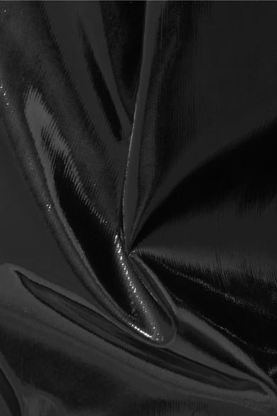 Tibi Karottenhose aus Vinyl