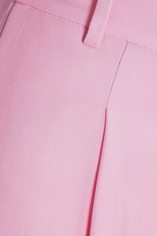 Tibi Satin-twill tapered pants