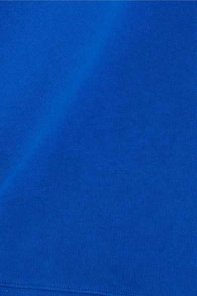 Tibi Sweatshirt aus Baumwoll-Jersey mit Raffungen