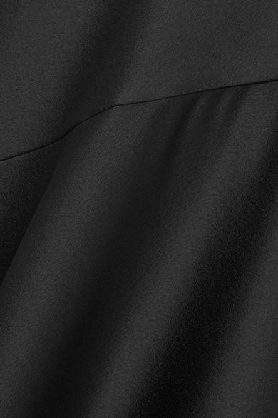 Halston Heritage Drapierte Robe aus Satin