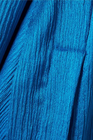 Hellessy Kirsten Bluse aus plissiertem Seidensatin