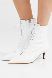 Emmet lace-up leather ankle boots