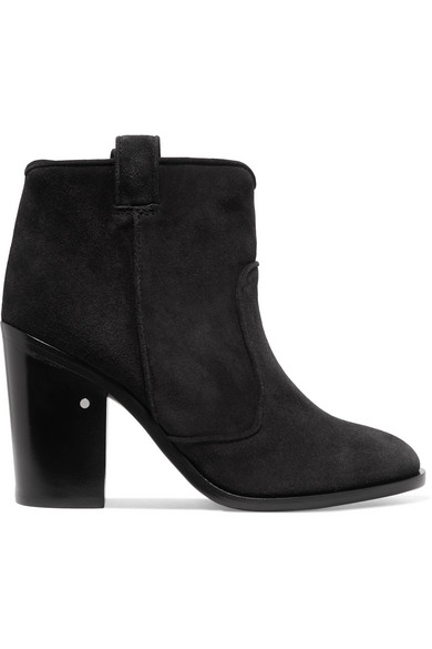 Laurence Dacade Pete Ankle Boots aus Veloursleder