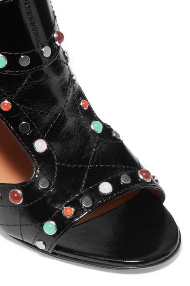 Gemütlich Laurence Dacade Rush verzierte Sandalen aus gestepptem Lackleder Niedrigsten Preis Online FX9VZ8flY