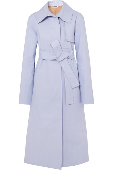 Jil Sander Trench From A Cotton Blend