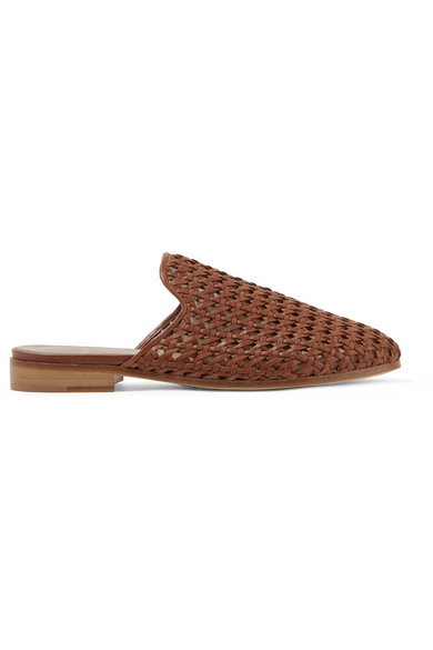 Brother Vellies Slippers aus geflochtenem Leder Auslass Browse Günstig Kaufen Niedrigen Preis Outlet Beste Geschäft Zu Bekommen Spielraum Besuch Neu ii1ViO
