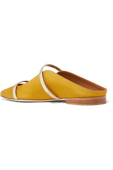 Malone Souliers Maureen flache Schuhe mit spitzer Kappe aus Moiré mit Metallic-Lederbesatz Rabatt-Angebote Der Günstigste Günstige Preis Spielraum Geringe Versandgebühr tvB8jTG