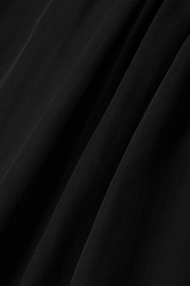 Giorgio Armani Bluse aus Seidenchiffon mit Mesh-Besatz Billig Verkauf Neue Stile Günstig Kaufen Limited Edition Steckdose Neu Manchester Großer Verkauf Zum Verkauf Freies Verschiffen Shop 2AlhNJD3