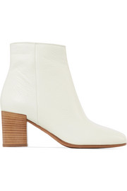 Vince Blakely textured-leather ankle boots