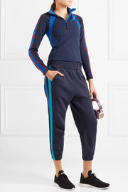 Downhill Racer paneled stretch-knit top