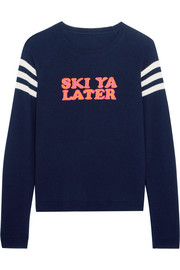 Ski Ya Later cashmere sweater