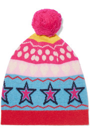 Ski Party wool-jacquard beanie