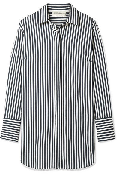 By Malene Birger Isadora Oversized-Hemd aus einer gestreiften Baumwollmischung