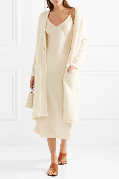 By Malene Birger Nicoles Midikleid aus Stretch-Seidensatin