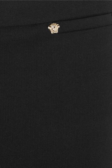 Versace Leggings aus Stretch-Crêpe