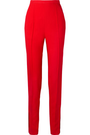 Diana stretch-canvas tapered pants