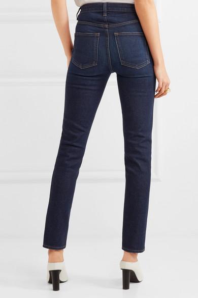 Khaite Vanessa hoch sitzende Jeans mit geradem Bein