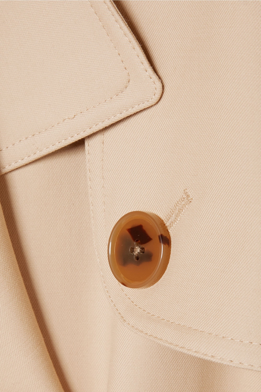 Khaite Cornelia cotton-canvas trench coat