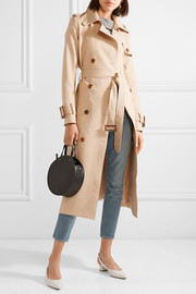 Cornelia cotton-canvas trench coat