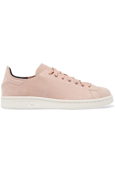 Adidas originali stan smith nuud nabuk scarpe da ginnastica, piccola rosa modesens